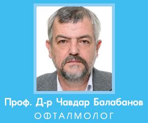 Проф. Д-р Чавдар Балабанов