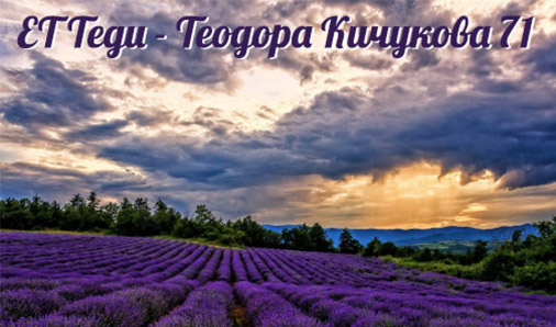 ЕТ Теди - 71 Теодора Кичукова
