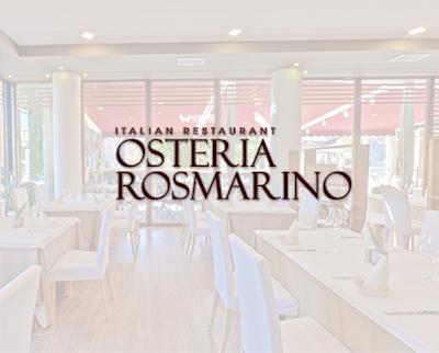 Ресторант Остериа Росмарино